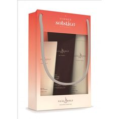 Neal and Wolf - Summer Solstice Trio £22.99 #giftset #gift  #neal&wolf #haircare #hairproducts #shampoo #conditioner #hairspray