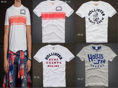 Camisetas Hollister 3