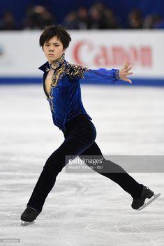 Shoma Uno of Japan competes in the Men free skating during the ISU Junior & Senior Grand Prix of Figure Skating Final at Nippon Gaishi Hall on December 8, 2017 in Nagoya, Japan.