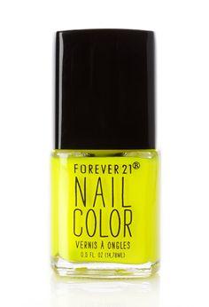 Neon Lush Nail Polish | FOREVER21 #F21Cosmetics #NailedIt