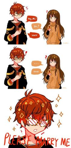 Follow me = You will have more beautiful pic  #mysticmessenger  - Zumi - Mystic Messenger Comic, Saeran, Luciel Choi, Jumin Han, Space Station, Gifs, Future Husband, Fandoms, Mystery
