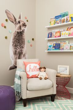 Move over Mr. Fox, the bunny is taking over nursery decor!