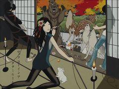 """""""ロックユーインアタタミルーム/ROKKU YUU IN A TATAMI RUUMU (Rock You in a Tatami Room)"""", Yumiko Kayukawa"""