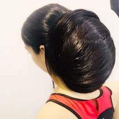 Really Long Hair, Super Long Hair, Beautiful Long Hair, Amazing Hair, Big Bun, Bun Hairstyles For Long Hair, Indian Beauty, Hair Beauty, Long Hair Styles
