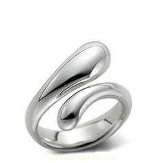 Tiffany  Co Outlet Elongated Teardrop Ring