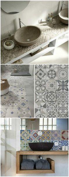 decoration petite salle de bain, déco salle de bain zen, modele de salle de bain, modele carrelage salle de bain, salle de bain nature