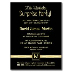 50th birthday save the date card party ideas pinterest 50th