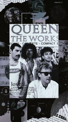 Discografia Queen, Queen Art, I Am A Queen, Queen Aesthetic, 80s Aesthetic, Queen Photos, Queen Pictures, Rock Posters, Band Posters