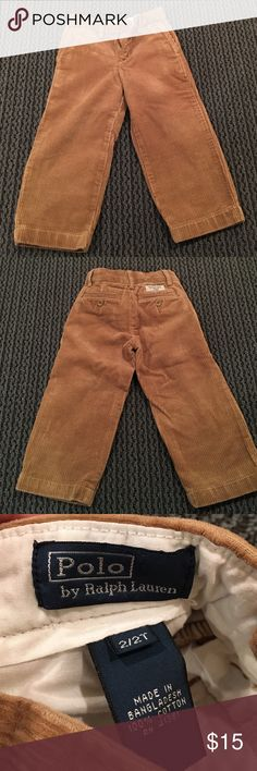 POLO By Ralph Lauren corduroy pants POLO By Ralph Lauren corduroy pants! Great for the holidays! Super cozy and cute! Polo by Ralph Lauren Bottoms Formal