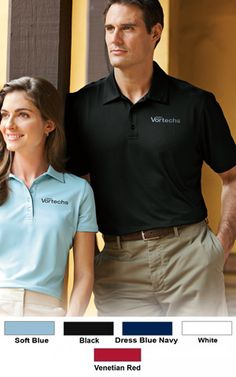 #redhouse #performance #polo #custom #apparel for #businesses $24.00 Features: 5.9-ounce; 92% polyester and 8% spandex; contrast neck and side vent taping; self-fabric collar; open hem sleeves; Red House engraved buttons and right sleeve Red House embroidery.