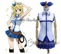 Lucy Heartfilia from Fairy Tail Anime Cosplay by RedstarCosplay, $59.00