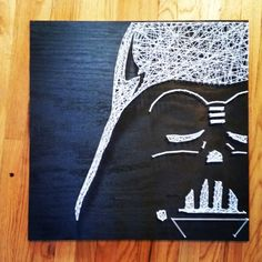 Darth Vader Star Wars String Art by DisorderAndDisarray on Etsy