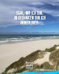 Egal, wo ich bin. In Gedanken bin ich immer am Meer.