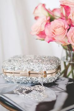 """I might love this purse with all of its """"glitz"""" and glamor, but I will NEVER own it....Too many other things on my list.....It's called """"The Rose Garden <3"""""""