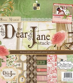 "DCWV 12""x12"" Dear Jane Stack"