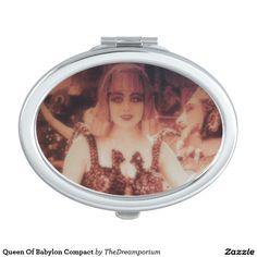 Queen Of Babylon Compact Travel Mirror