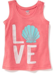 Graphic Tank for Toddler