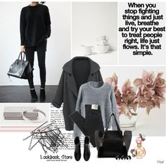 Untitled #2641 by pillef on Polyvore featuring Henleys, H&M, ASOS and Marc Jacobs
