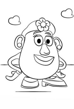 30 Free Printable Toy Story Coloring Pages Toy Story Coloring Pages, Bunny Coloring Pages, Disney Coloring Pages, Free Printable Coloring Pages, Coloring Pages For Kids, Kids Coloring, Free Coloring, Cumple Toy Story, Festa Toy Story
