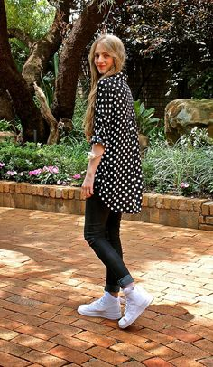 Fashionable Passion: {24.04.15} Polka Dots and Nike Airforce 1's