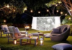 The great outdoors: A summer's evening around the fire #johnlewis #garden #relaxation
