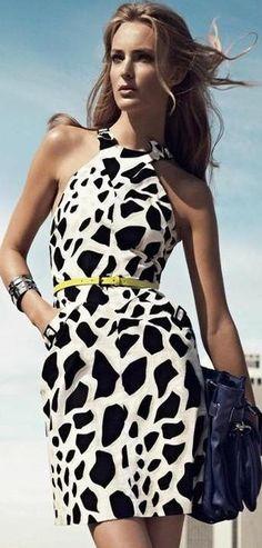 black and white fashion | LBV ♥✤ | KeepSmiling | BeStayElegant