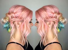 My Little Pony pastel hair color