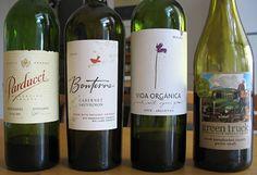 Green Truck and Bonterra.....2 of my favorite bottles of vino!