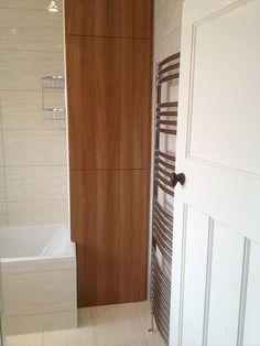 Boiler Cupboard After With Bathroom Installation In Leeds