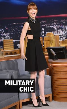 Chic militaire from Fashion Police