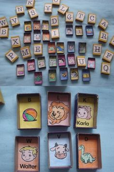 7 coisas que você pode fazer com caixinhas de fósforo para o seu filho: http://www.mildicasdemae.com.br/2014/04/caixas-de-fosforo-brincadeiras-e-outras-ideias.html