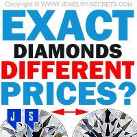 ►► EXACT STONES - DIFFERENT PRICES? ►► Jewelry Secrets