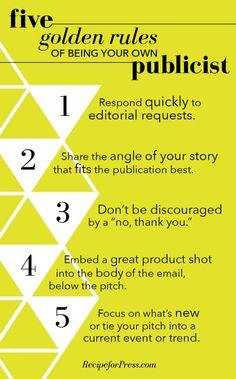 Recipe For Press   do-it-yourself publicity for entrepreneurs