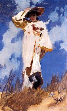 bofransson:    Gust Of Wind, John Singer Sargent