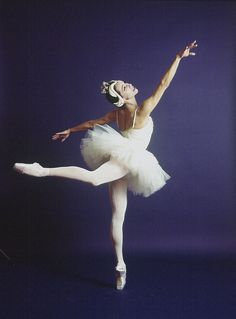 "New York City Ballet - Maria Tallchief in ""Swan Lake"", choreography by George Balanchine (New York)"