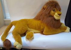 Disney The Lion King Adult Simba Plush Stuffed Animal Douglas Co. Large 4 Foot in Toys & Hobbies, TV, Movie & Character Toys, Disney, Lion King | eBay