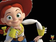 Toy Story 3 Wallpaper: Jessie