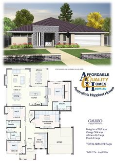 Affordable Quality Homes - Calileo 274sqm