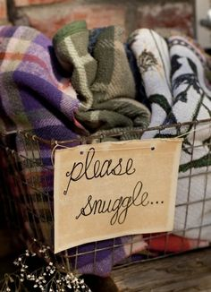 please snuggle