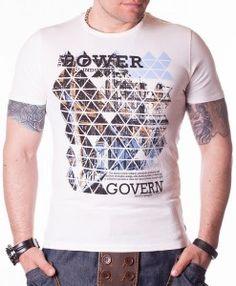 Tricou pentru barbati WE 62 - alb - 69 RON