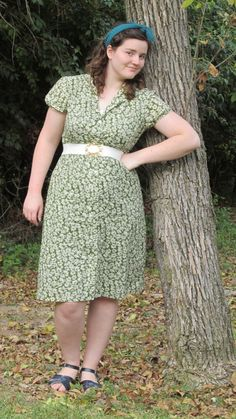 Green Days Outfit, 1940s inspired