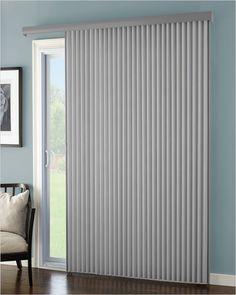 Vertical Blinds For Patio Doors - - Patio Door Blinds, Patio Doors, Blinds For Large Windows, Outside House Paint, Vertical Doors, Bathroom Repair, Aluminum Blinds, Silver Bedroom, Room Divider Curtain