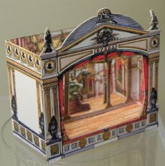 Paper Theater by AngelikasMinis on Etsy