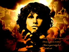 Jim Morrison from The Doors