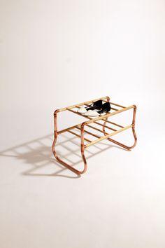 Copper, Shoe Rack, Ash, Pipe Fittings