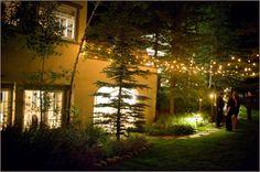 Outdoor Bistro Lights Pink Monkey Solutions | Vail, Colorado | Denver, Colorado