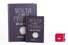Libretto Volta ao Mundo em 80 Dias - Série Clássicos - cadernos artesanais