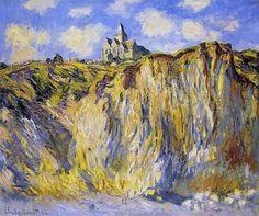 Église de Varengeville, effet du matin (C. Monet, 1882)