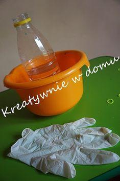 Balonowo-wodne eksperymenty | Kreatywnie w domu Diy And Crafts, Projects To Try, Tableware, Art, Dinnerware, Dishes, Kunst, Place Settings, Art Education