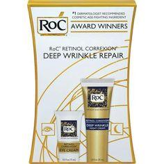 RoC Retinol Correxion Deep Wrinkle Repair Variety Pack, 2 pc